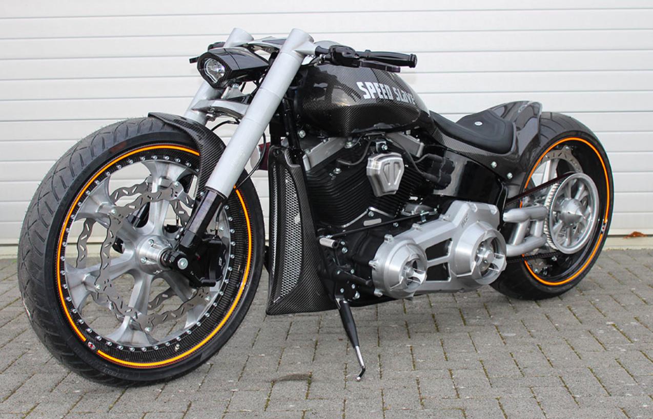 Кастом Softail Harley-Davidson