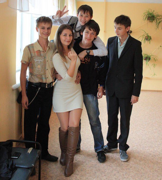 Учительница 7 классов из России