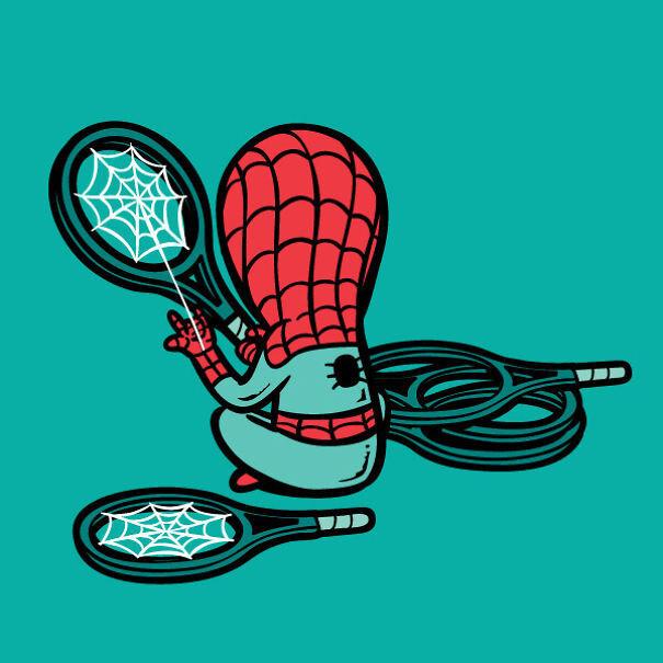 Подработка супергероев
