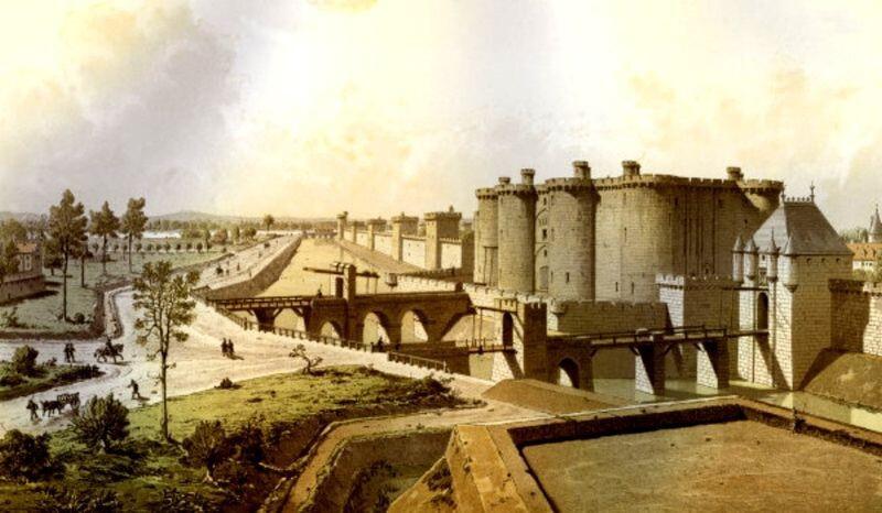 Бастилия – крепость, тюрьма, площадь