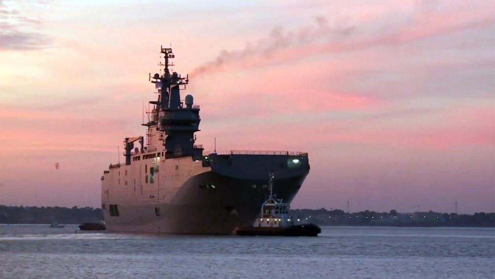 Франция вернет России €1 млрд неустойки за «Мистрали»