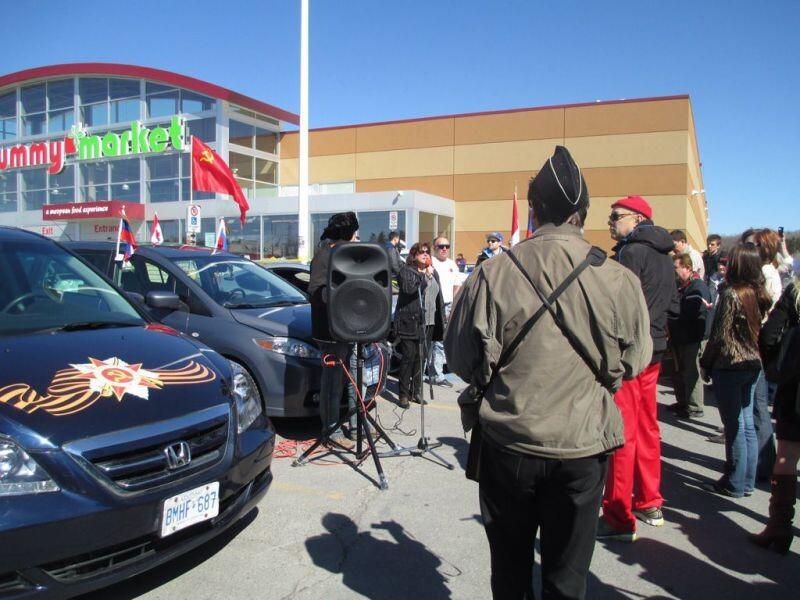 В Торонто состоялся благотворительный автопробег «Я помню, я горжусь»