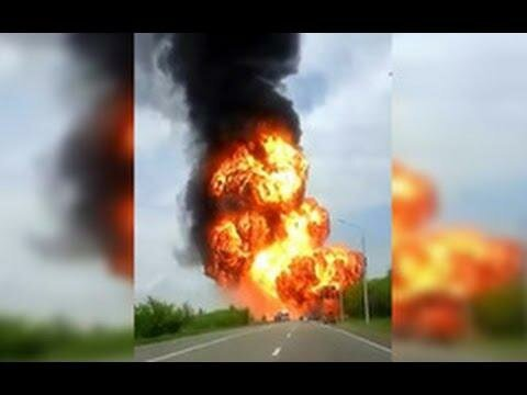 Взрыв грузовика с реагентами повредил дома на Ставрополье