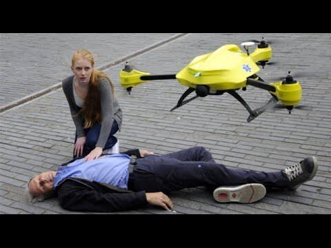 Одна из идей использования дрона