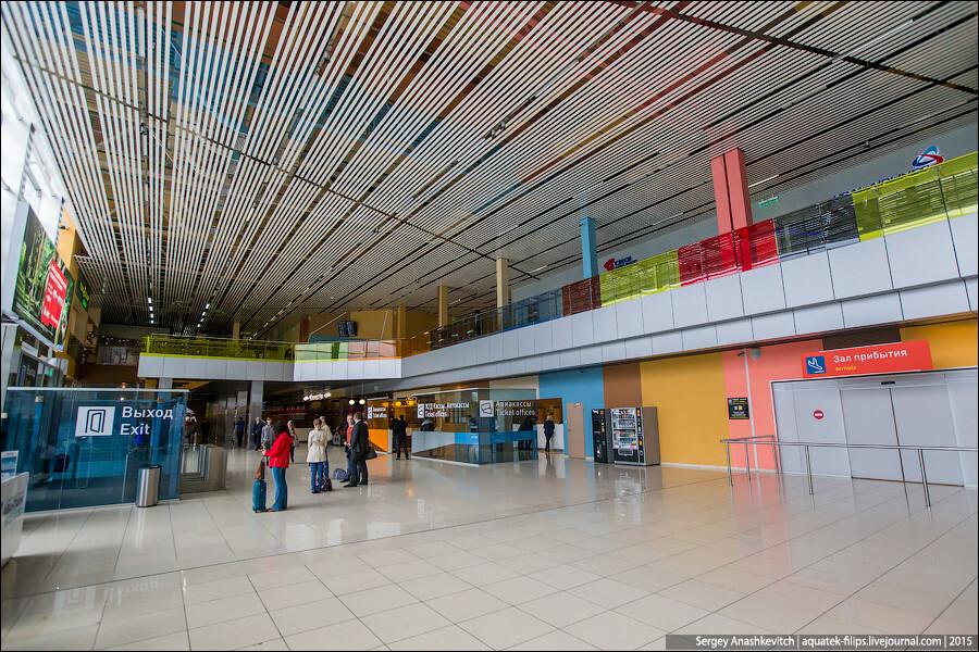 Прогулка по одному из лучших аэропортов России