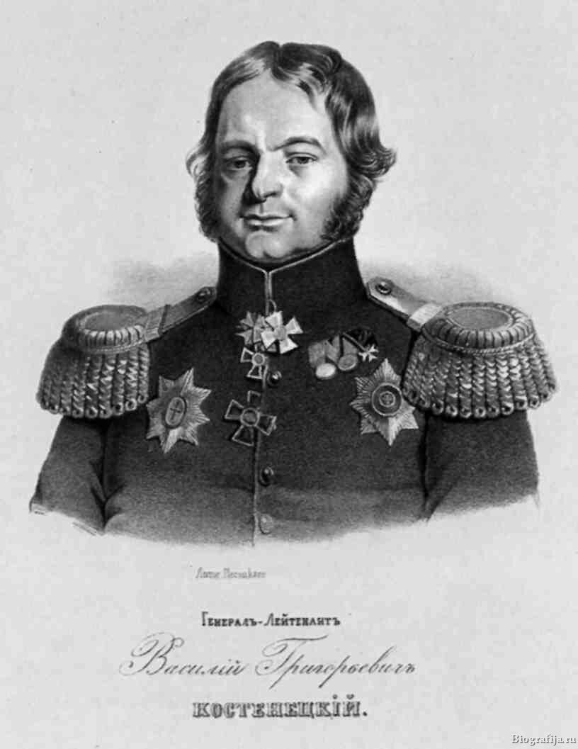 Костенецкий Василий Григорьевич