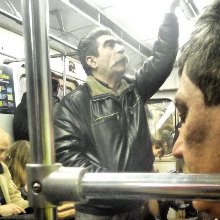 Кого только не увидишь в метро