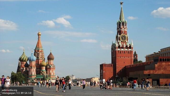 На Красной площади в Москве задержали «соседа Путина»