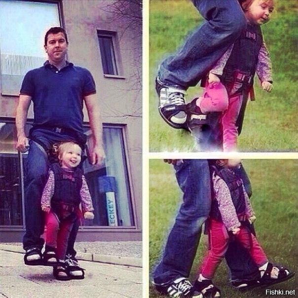 Отец придумал механизм, с помощью которого его парализованная дочь смогла вый...