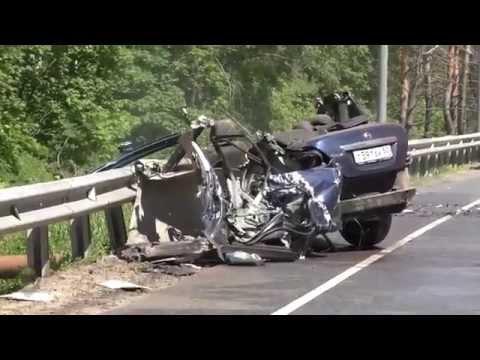 Страшная авария на Щелковском шоссе, 2 погибших