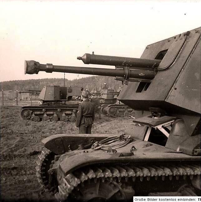 Трофейные танки Рейха
