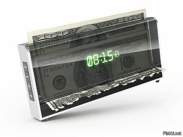 Будильник, который уничтожает деньги, если вы не проснулись