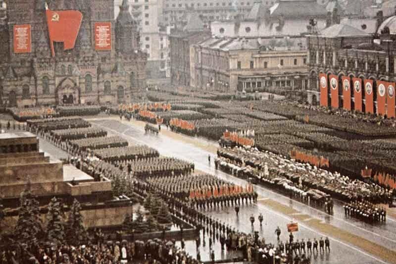 Как проходил первый Парад Победы 24 июня 1945 года