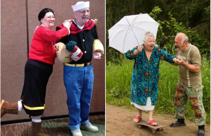15 фотографий, доказывающих, что старость - это лучшее время для веселья