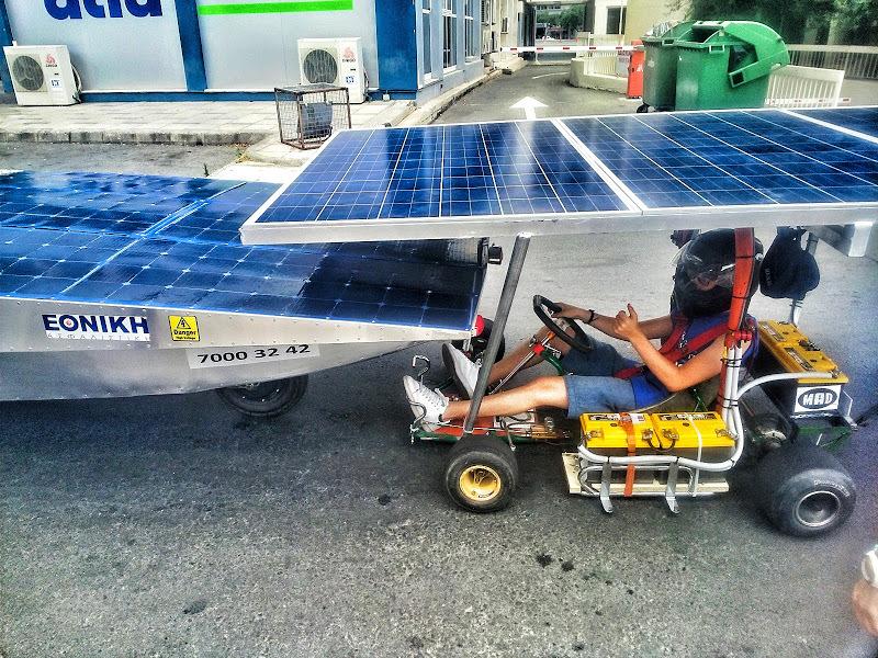 Соревнования автомобилей на солнечной энергии