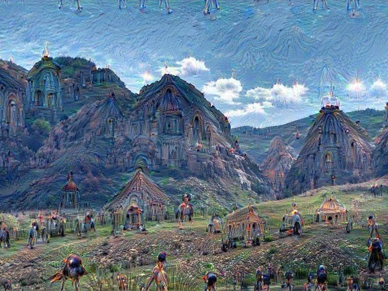 Завораживающие картины, созданные искусственным интеллектом
