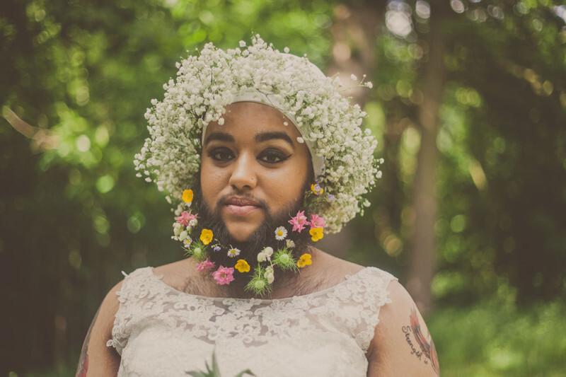 Эта бородатая девушка бросает вызов традиционным представлениям о красоте