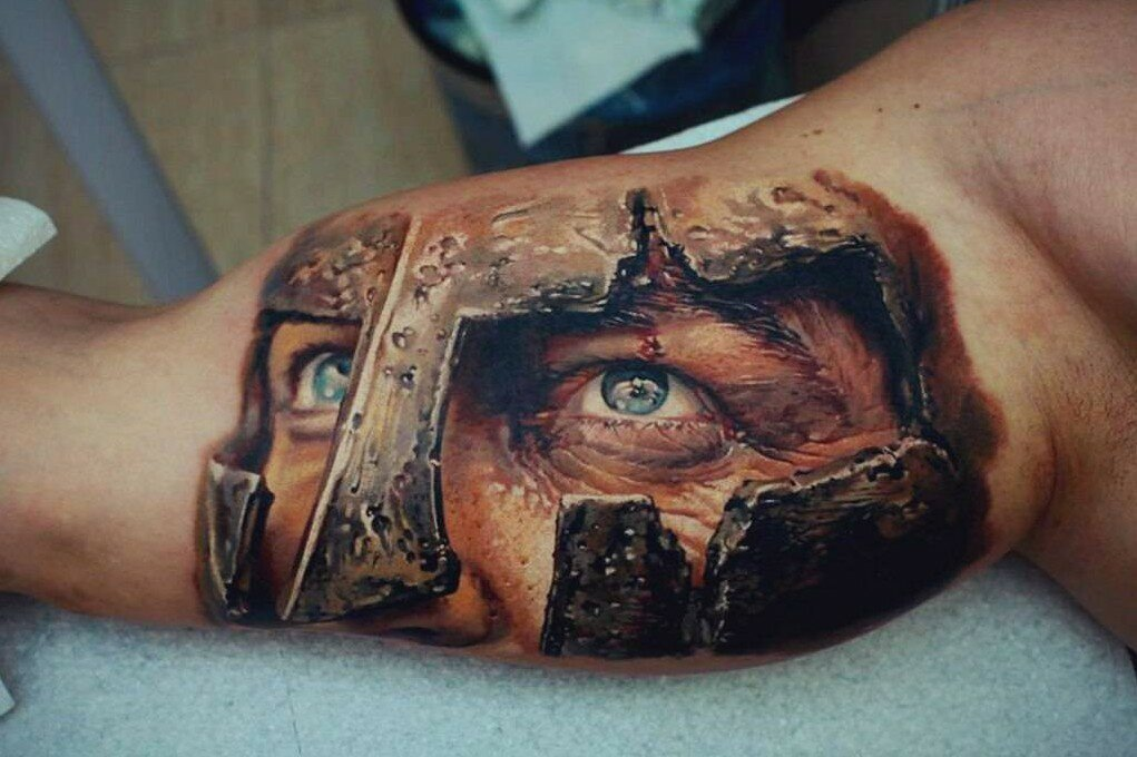 38 сумасшедших 3D татуировок