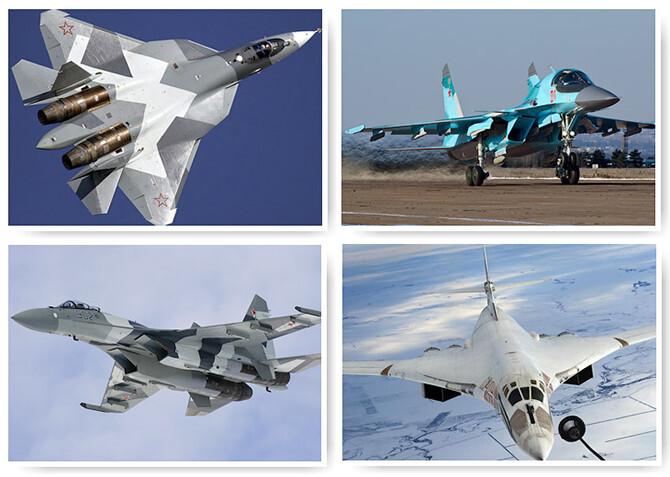 Самые опасные боевые самолеты России