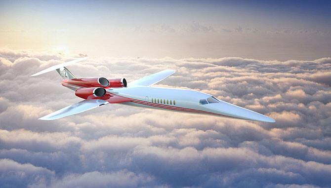 Сверхзвуковой частный самолет за $120 миллионов