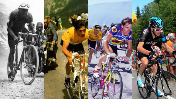 Велосипеды «Тур де Франс»: 100 лет эволюции