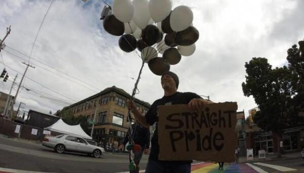 На гетеро-парад в Сиэтле никто не пришел