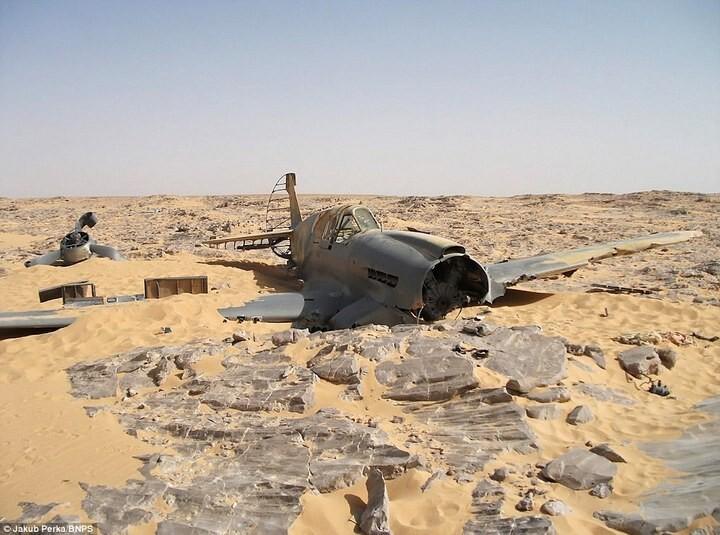 Cамолет времен Второй мировой пролежал в Сахаре  более 70 лет