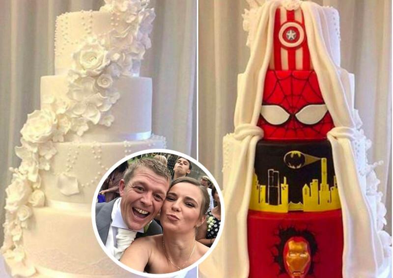 Компромисный свадебный торт: вот как надо решать семейные споры!