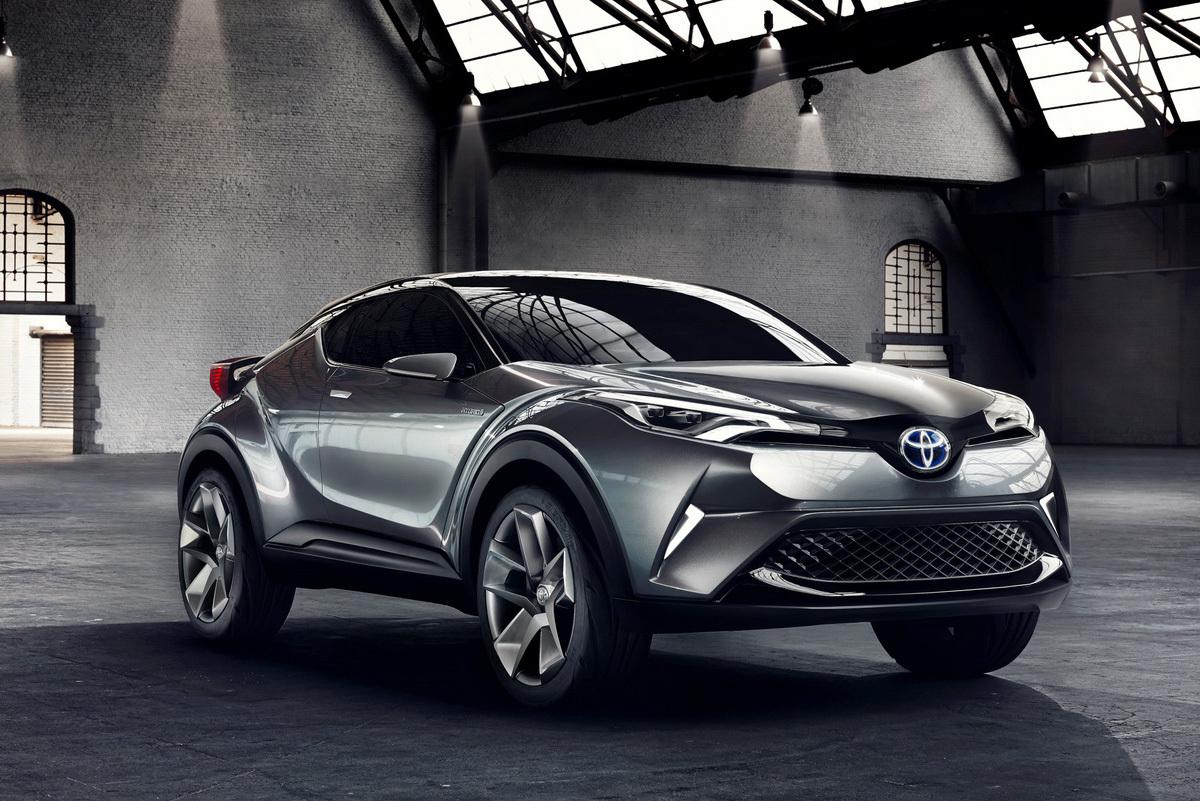 Toyota показала конкурента Nissan Juke
