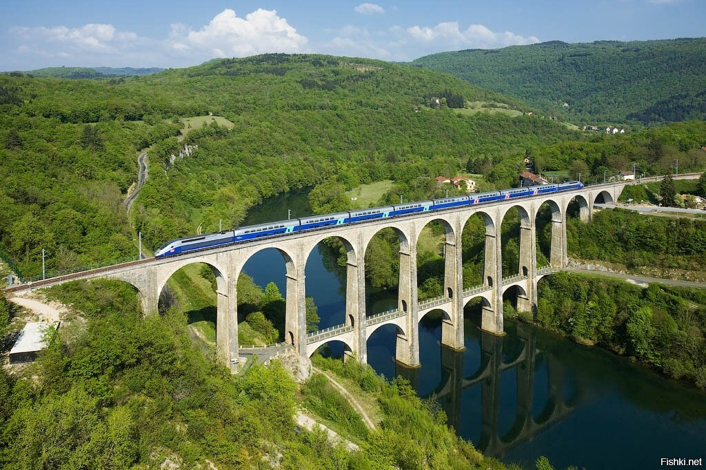 Ущелье Айн, Франция