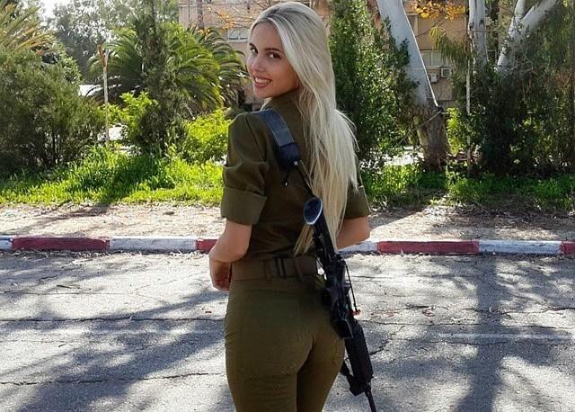 Мария Домарк — рядовой израильской армии
