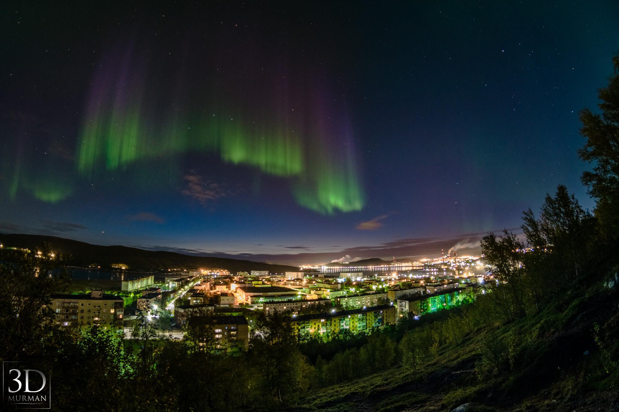 5 лучших мест в России, где можно увидеть северное сияние