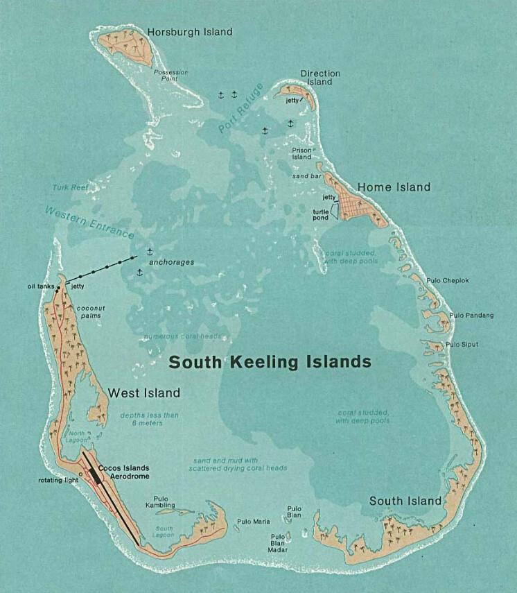 Кокосовые острова (Килинг)