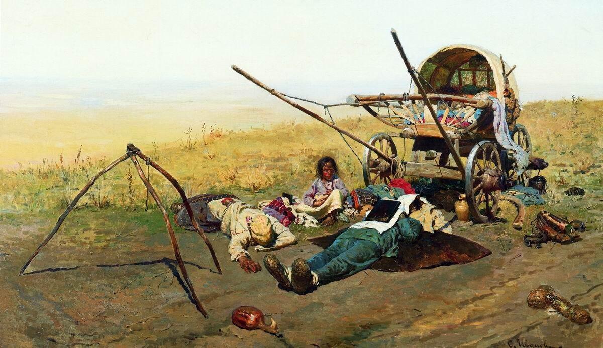 Иванов С.В. Смерть переселенца: что на самом деле изображено на картине?