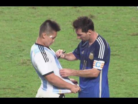Футбол. Трогательные моменты