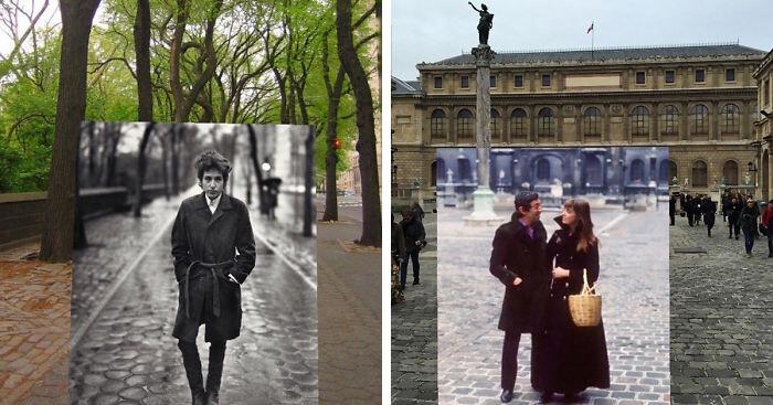 16 исторических фото, перенесенных в настоящее