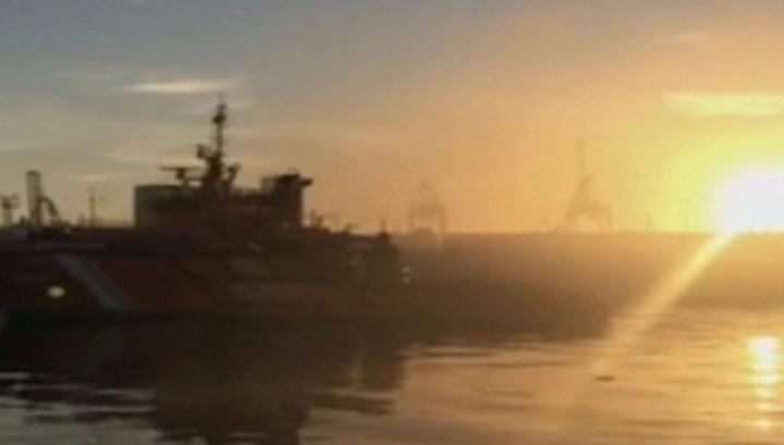 "Российский траулер ""Адмирал Шабалин"" на Канарах едва полностью не сгорел"