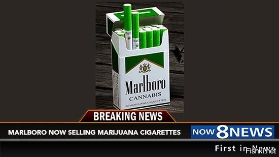Philip Morris Marlboro 'M' Brand Marijuana Cigarettes Now For Sale In Four U