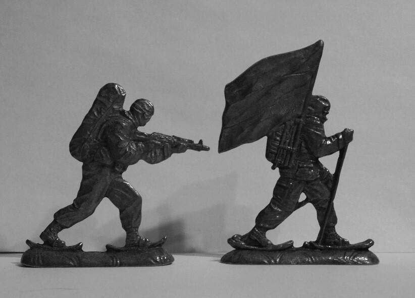 Русские солдатики - Русская Арктика!