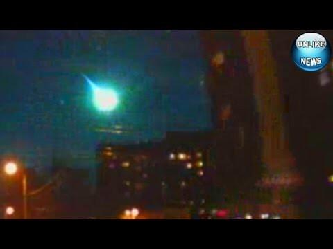 Метеорит над Калининградом