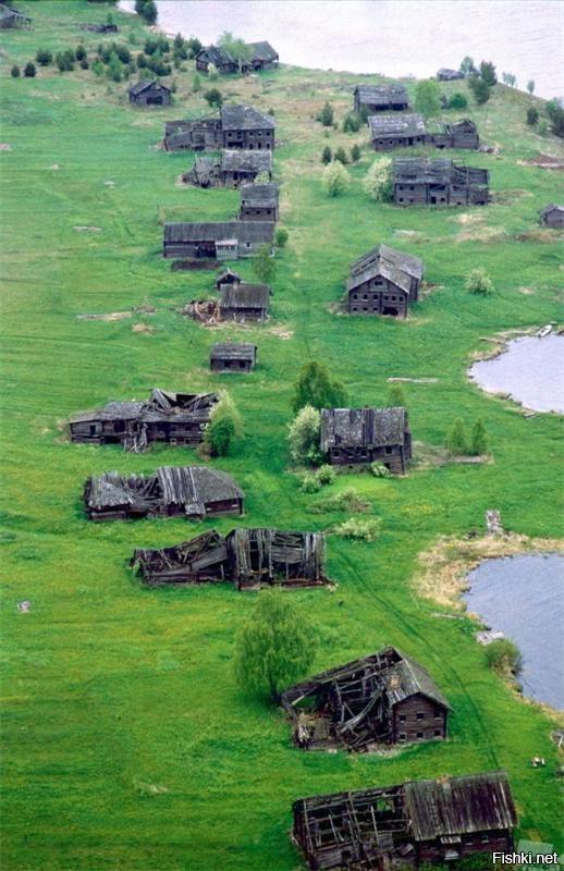 Деревня Пегрема в Карелии заброшена с 70-х годов