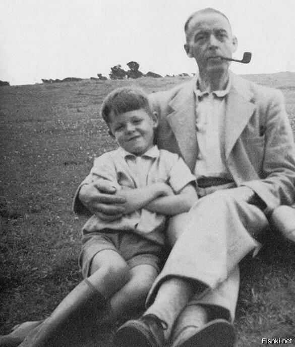 Пол Маккартни с отцом