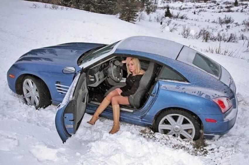 Советы для начинающих,неопытных автомобилистов в зимний период