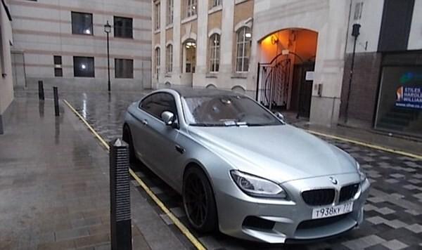 Власти Лондона написали специальное письмо российскому автовладельцу, который паркуется по-хамски