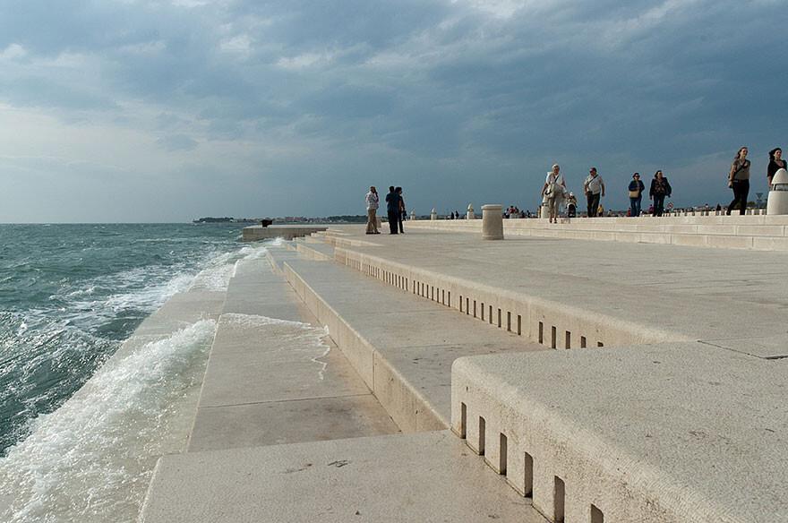 Послушайте этот 70-метровый «морской орган», использующий ветер и волны для создания звуков