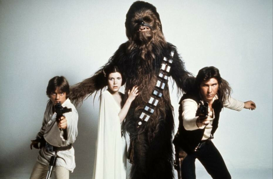 """Актёры """"Звёздных войн"""" 1977 года"""