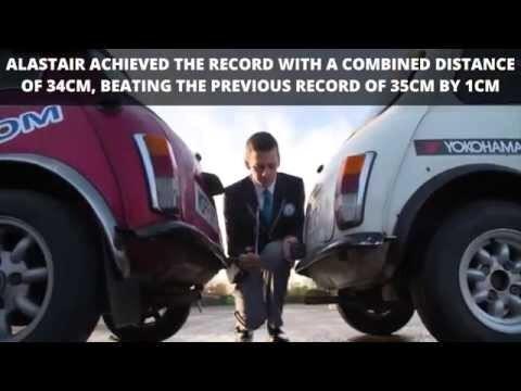 Мировой рекорд по параллельной парковке задним ходом