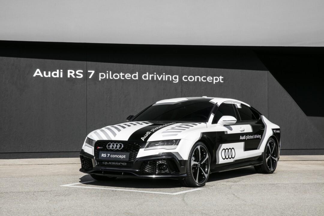 Audi с автопилотом поставила рекорд на гоночном треке