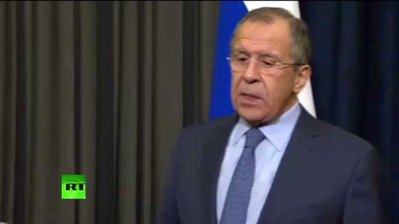 Сергей Викторович Лавров отменил встречу министров в Стамбуле
