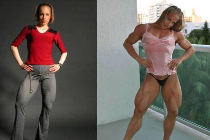 8 женщин и их шокирующие стероидные преобразования